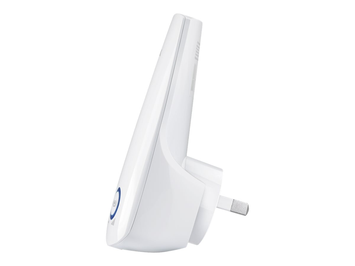 TP-LINK 300Mbps Universal Wi-Fi Range Extender, Repeater, Wall Plug design, One-button Setup, Smart Signal, TL-WA850RE