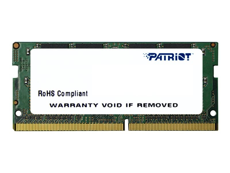 Patriot Memory 4GB PC4-17000 260-pin DDR4 SDRAM SODIMM, PSD44G213381S