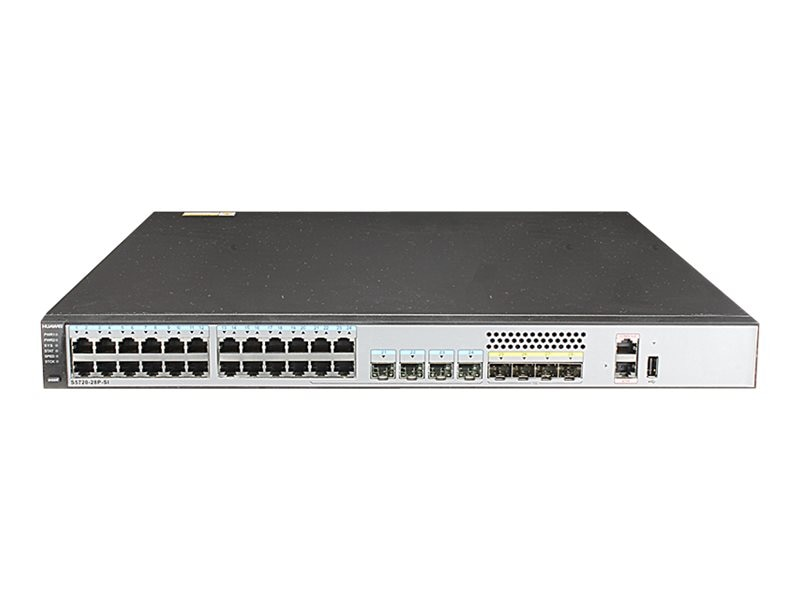 Huawei S5720-28P-SI Network Switch Bundle, S5720-28P-SI-AC