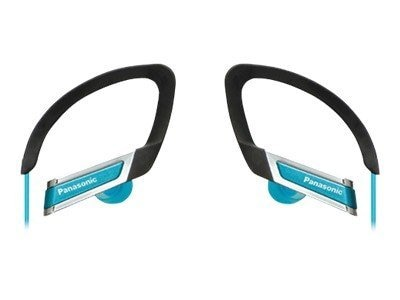 Panasonic Inner Ear Clip Sports Headphones with Extension, Blue, RP-HS220-A, 12551871, Headphones
