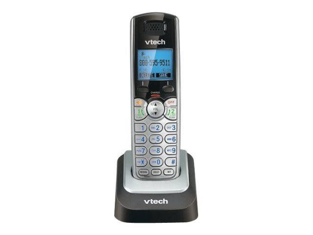 Vtech 2-Line Accessory Handset with Caller ID Call Waiting, DS6101, 11151605, Telephones - Consumer