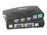 C2G Port Authority2 2-Port VGA USB and PS 2 KVM Switch with Cables, 35554, 6520040, KVM Switches