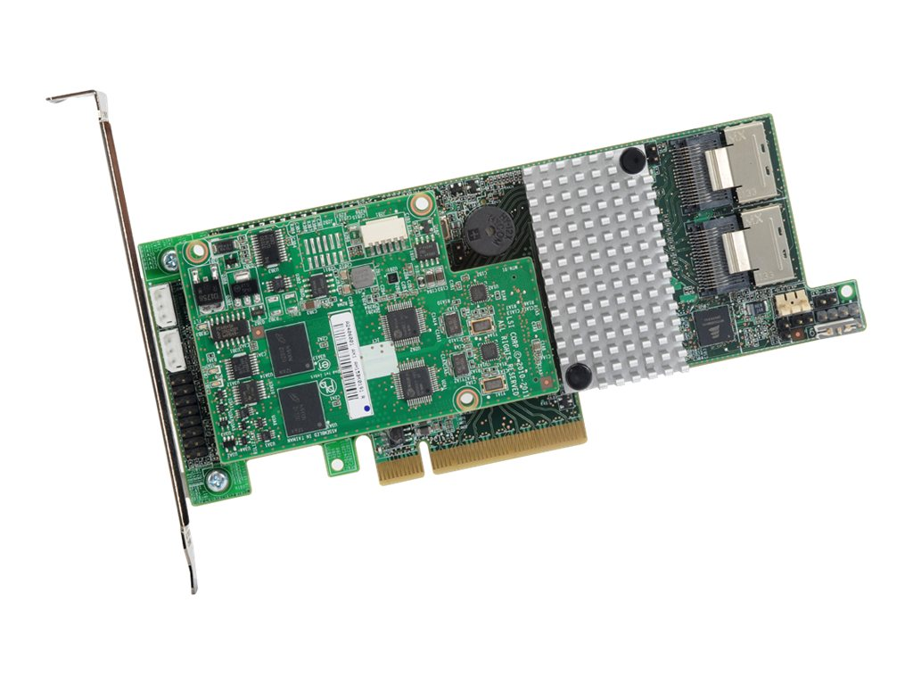 LSI MegaRAID SAS 9271-8i 8-Port 6Gb s PCI Express 3.0 Card, 1GB Cache, L5-25413-18, 31362805, RAID Controllers