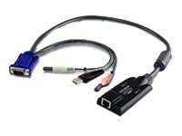 Aten USB Virtual Media KVM Adapter Cable with Audio, CPU Module, KA7176, 10101091, Adapters & Port Converters