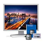 NEC 21.3 P212 LED-LCD Monitor with Color Calibration Kit, White