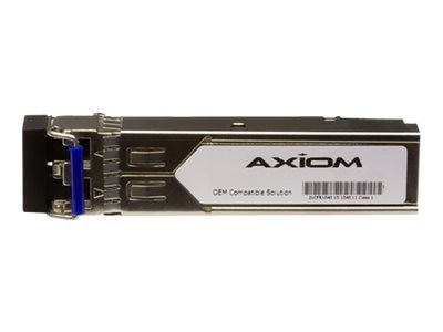 Axiom Cisco Compatible 1000BASE-ZX SFP Transceiver MOD SMF 1550NM DOM, GLC-ZX-SMD-AX, 16599601, Network Transceivers