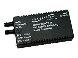 Transition Mini 10 100BSE EX to FX-SC MM 2KM with NA, M/E-PSW-FX-02(SC)NA, 13671680, Network Transceivers