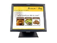 Planar 17 PT1745R Touchscreen LCD Monitor with Speakers, Serial USB