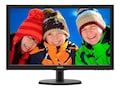 Philips 21.5 223V5LSB Full HD LED-LCD Monitor with SmartControl Lite, Black, 223V5LSB, 17862301, Monitors