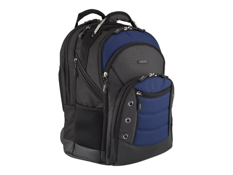 Toshiba 16 Extreme Plus Backpack, Black, Blue, PA1501U-1BX6, 11842289, Carrying Cases - Notebook