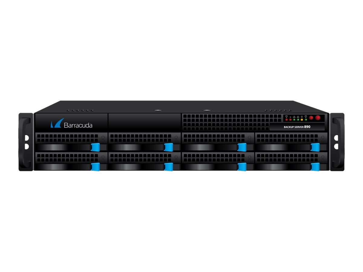 Barracuda Backup Server 895 w 10 GBE Copper NIC & 1-year EU+IR+PS