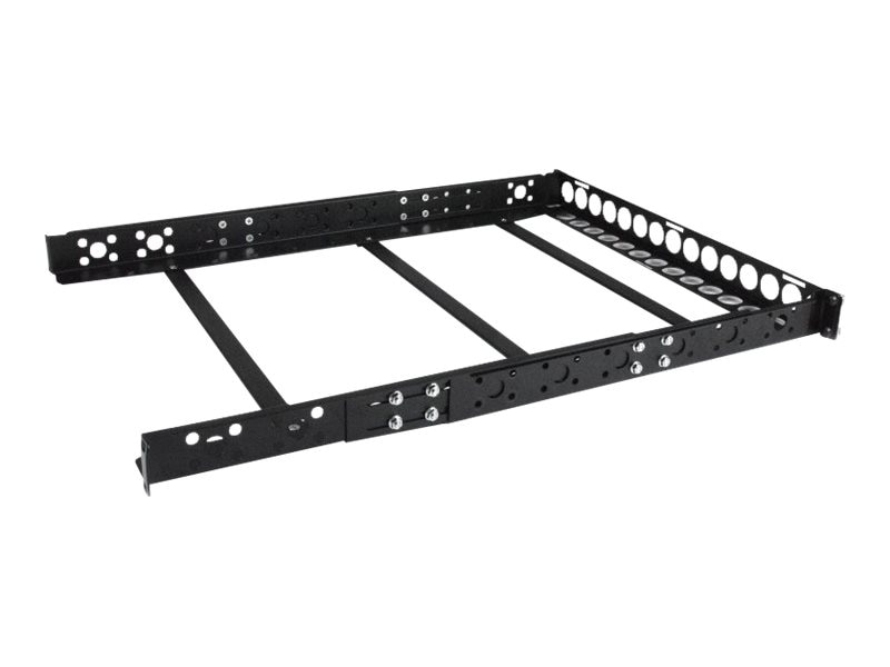 StarTech.com Fixed 19 Adjustable Depth Universal Server Rack Rails, 1U, UNIRAILS1U, 13552816, Rack Mount Accessories