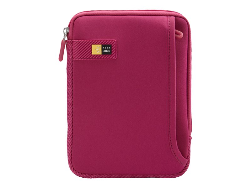 Case Logic Tablet Sleeve with Pocket for iPad mini or 7 Tablet, Pink, TNEO-108PINK, 16815677, Protective & Dust Covers