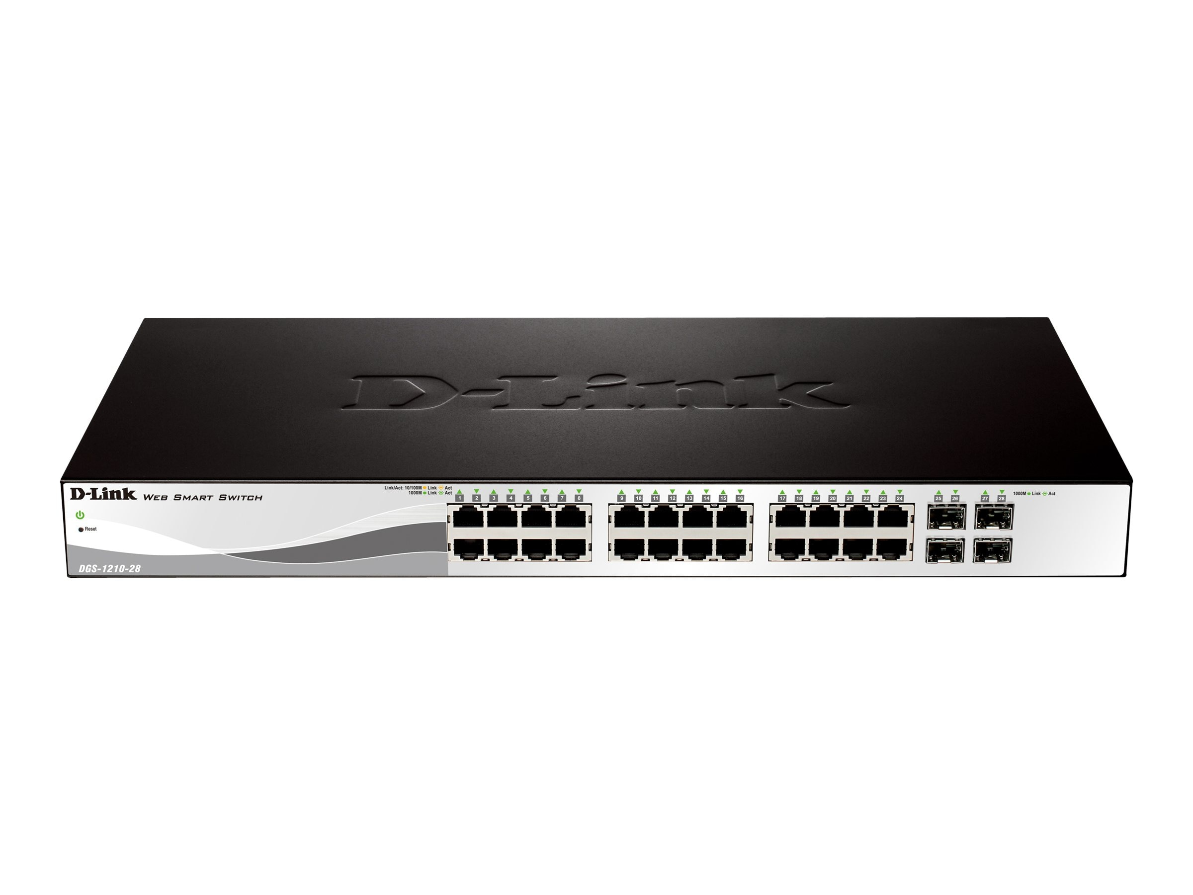 D-Link 24 Port Gig Web Smart Switch, DGS-1210-28