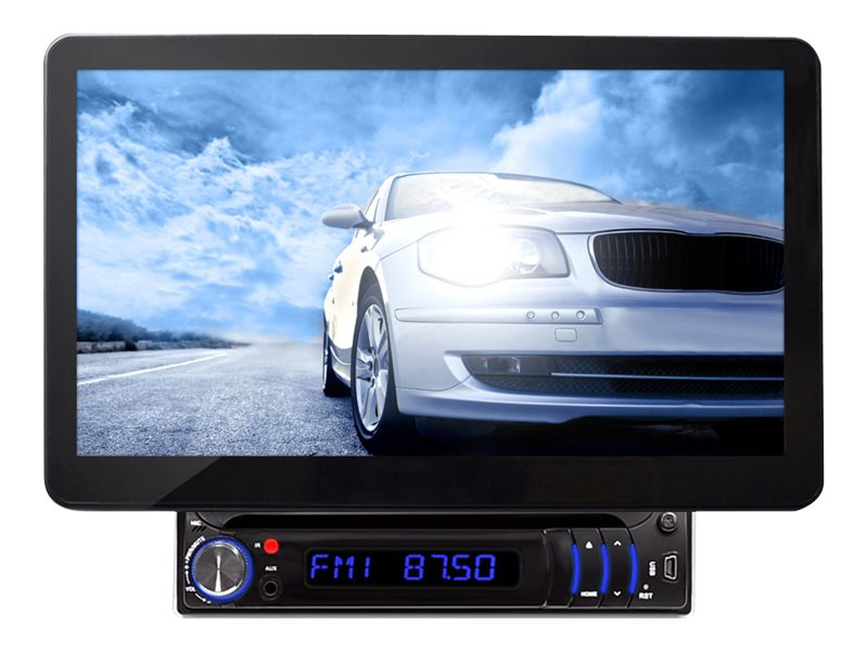 Pyle Motorized CD DVD USB SD 10.1 BT Touch Screen Receiver w  Detachable Display, PLD11BT, 17436097, Stereo Components