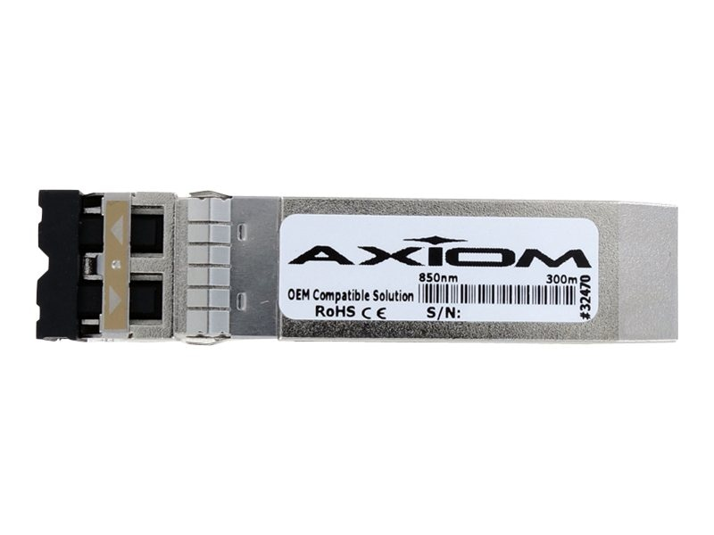 Axiom QLogic 10GBase-SR SFP+ Optical Transceiver, 49Y4218-AX, 14824609, Network Transceivers