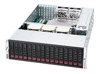 Supermicro 3U Chassis, DP Support, 16x3.5 Bays, 1200W RPSU, CSE-936E16-R1200B, 11924591, Cases - Systems/Servers