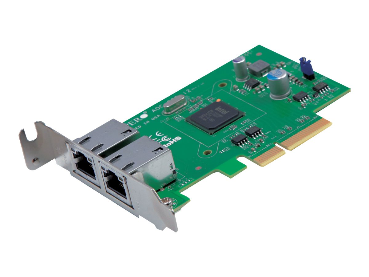 Supermicro Standard Low Profile 2-port Gbe w  Intel i350, AOC-SGP-I2