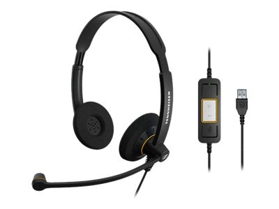 Sennheiser Culture Dual Lync, SC60 USB ML, 15258485, Headsets (w/ microphone)