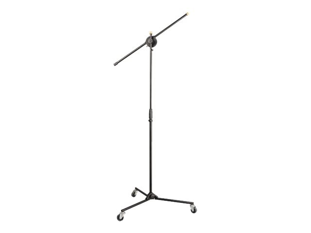 Pyle Universal Rolling Wheels Tripod Microphone Stand