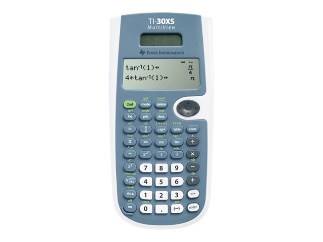 TI TI-30XS MultiView Calculator, 30XSMV/TBL