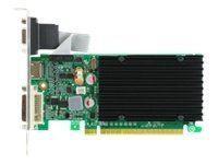 eVGA GeForce 8400 GS PCIe 2.0 Graphics Card with Heatsink, 1GB DDR3, 01G-P3-1303-KR, 12453592, Graphics/Video Accelerators