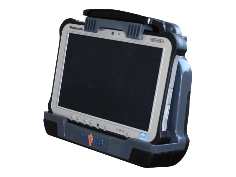 Havis Docking Station for Toughpad FZ-G1 with PS and Dual High-Gain Antenna, DS-PAN-702-2, 30715111, Docking Stations & Port Replicators