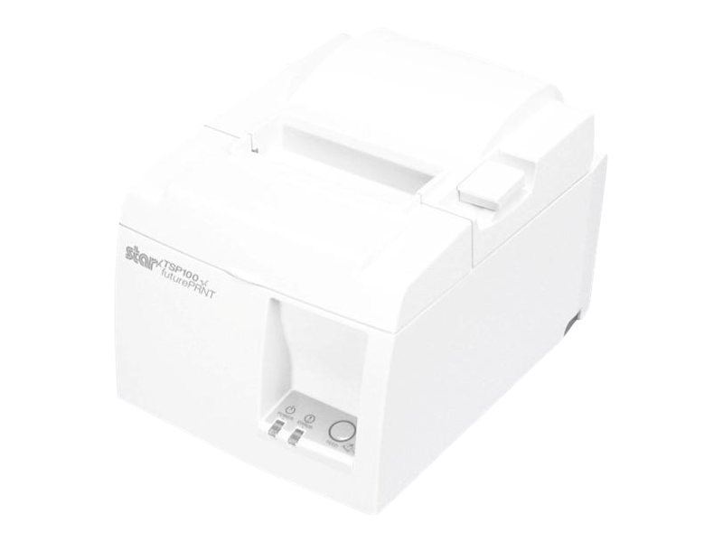 Star Micronics TSP100 Eco Thermal USB Printer - White w  Cutter & Power Supply, 39464510, 17074006, Printers - POS Receipt