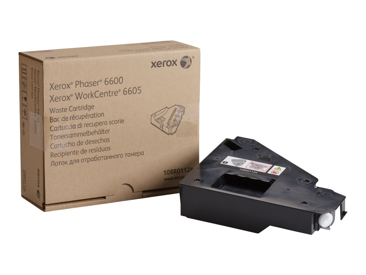 Xerox Waste Cartridge for Phaser 6600 & WorkCentre 6605 Series, 108R01124, 16372520, Printer Accessories