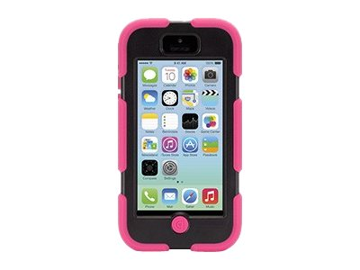 Griffin Survivor Rugged case for iPhone 5c Pink Black