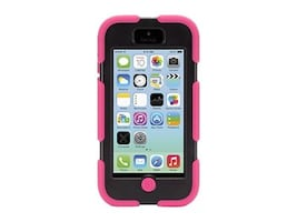Griffin Survivor Rugged case for iPhone 5c Pink Black, GB38142, 16233010, Carrying Cases - Phones/PDAs