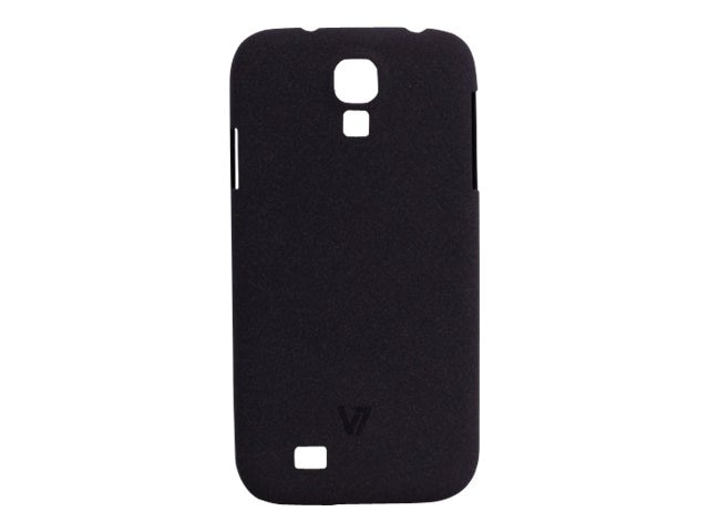 V7 Metro Anti-slip Phone Case for Samsung S4 Sand Finish PC Cover Black, PD19BLK-14N, 15726251, Carrying Cases - Phones/PDAs