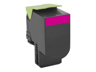 Lexmark 700H3 Magenta High Yield Toner Cartridge, 70C0H30