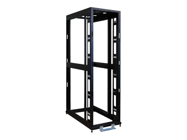 Tripp Lite 42U Mid-Depth 4-Post SmartRack Premium Open Frame Rack w o Sides or Doors