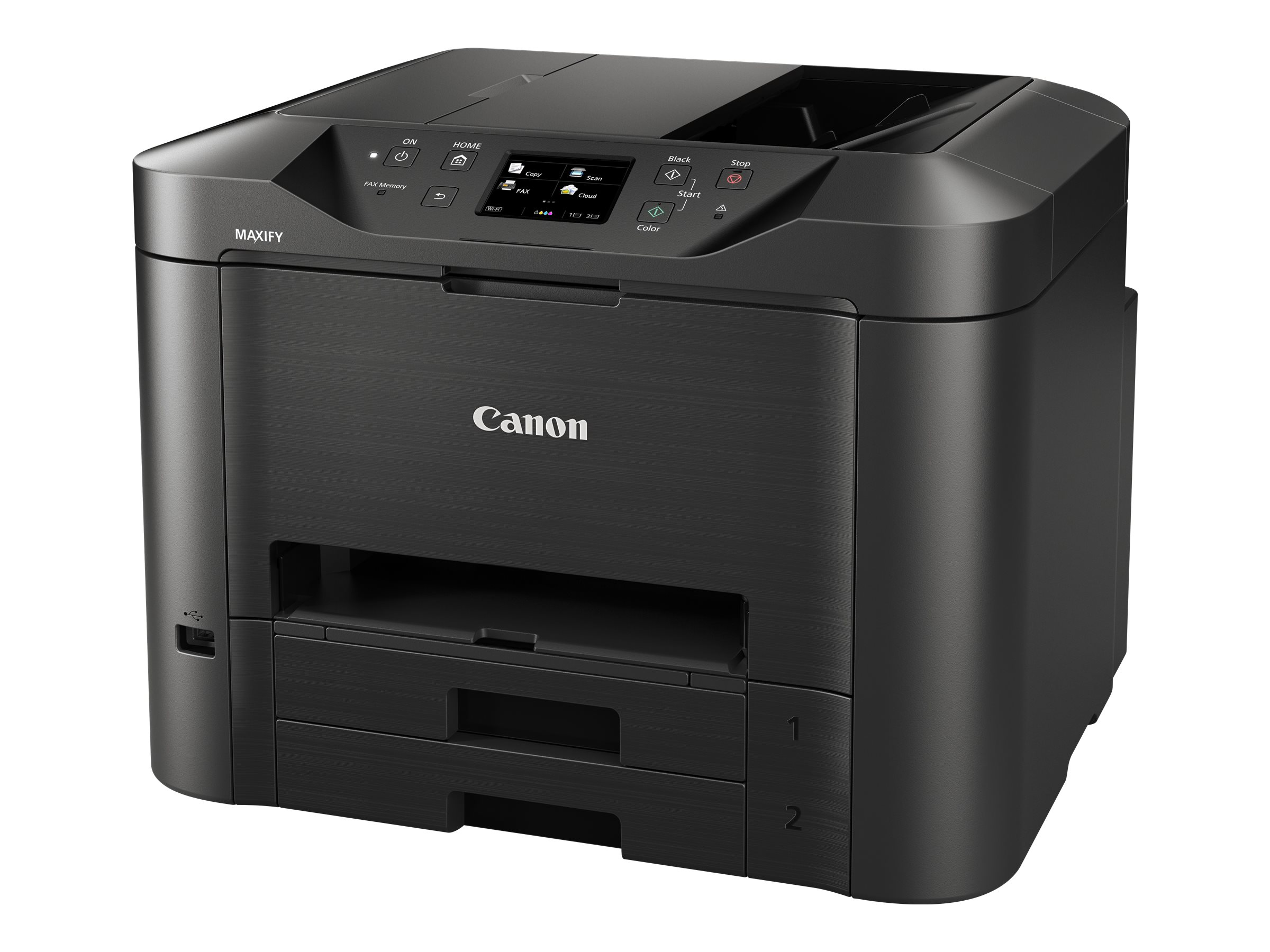 Canon MAXIFY MB5320 Wireless Small Office All-In-One Inkjet Color Printer, 9492B002, 18457877, MultiFunction - Ink-Jet