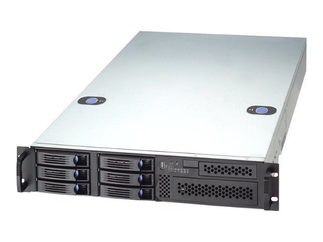 Chenbro 2U Chassis, 26, 6xBays, RM21706T-650L, 12292531, Cases - Systems/Servers