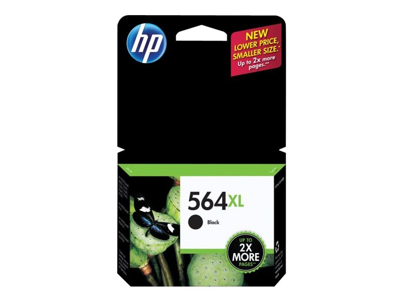 HP 564XL (CN684WN) High Yield Black Original Ink Cartridge, CN684WN#140, 12358018, Ink Cartridges & Ink Refill Kits