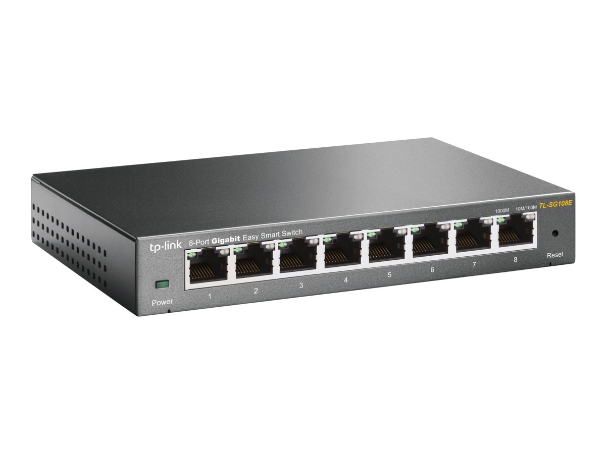 TP-LINK 8 Port GB Easy Smart Switch, TL-SG108E