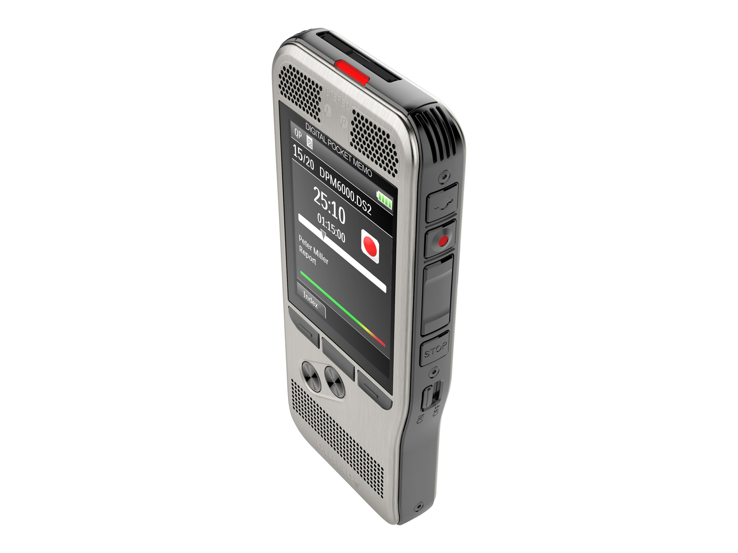 Philips Digital Pocket Memo Recorder, DPM6700