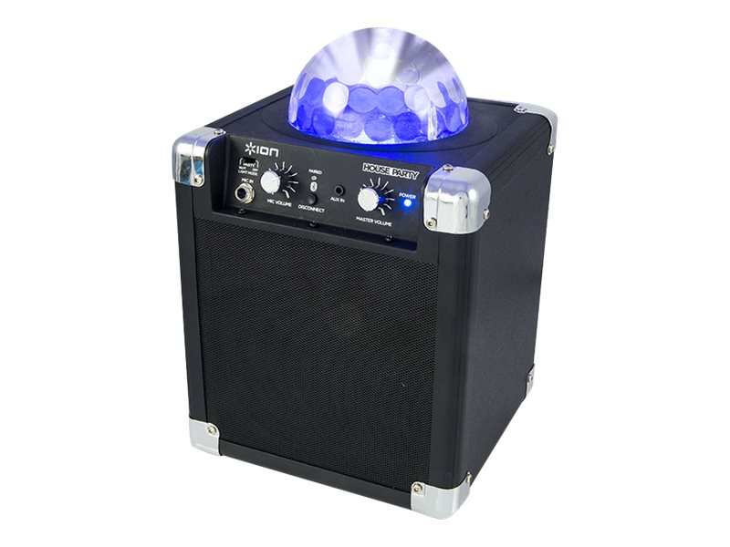 ION Audio House Party Bluetooth Speaker w  Built-In Lightshow, IPA18D, 25487994, Speakers - Audio