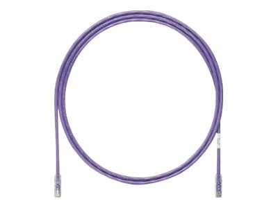 Panduit CAT6A UTP Copper Patch Cable, Violet, 10ft
