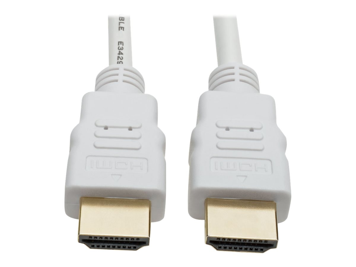 Tripp Lite Ultra HD 4Kx2K High Speed HDMI M M Digital Video Cable with Audio, White, 16ft