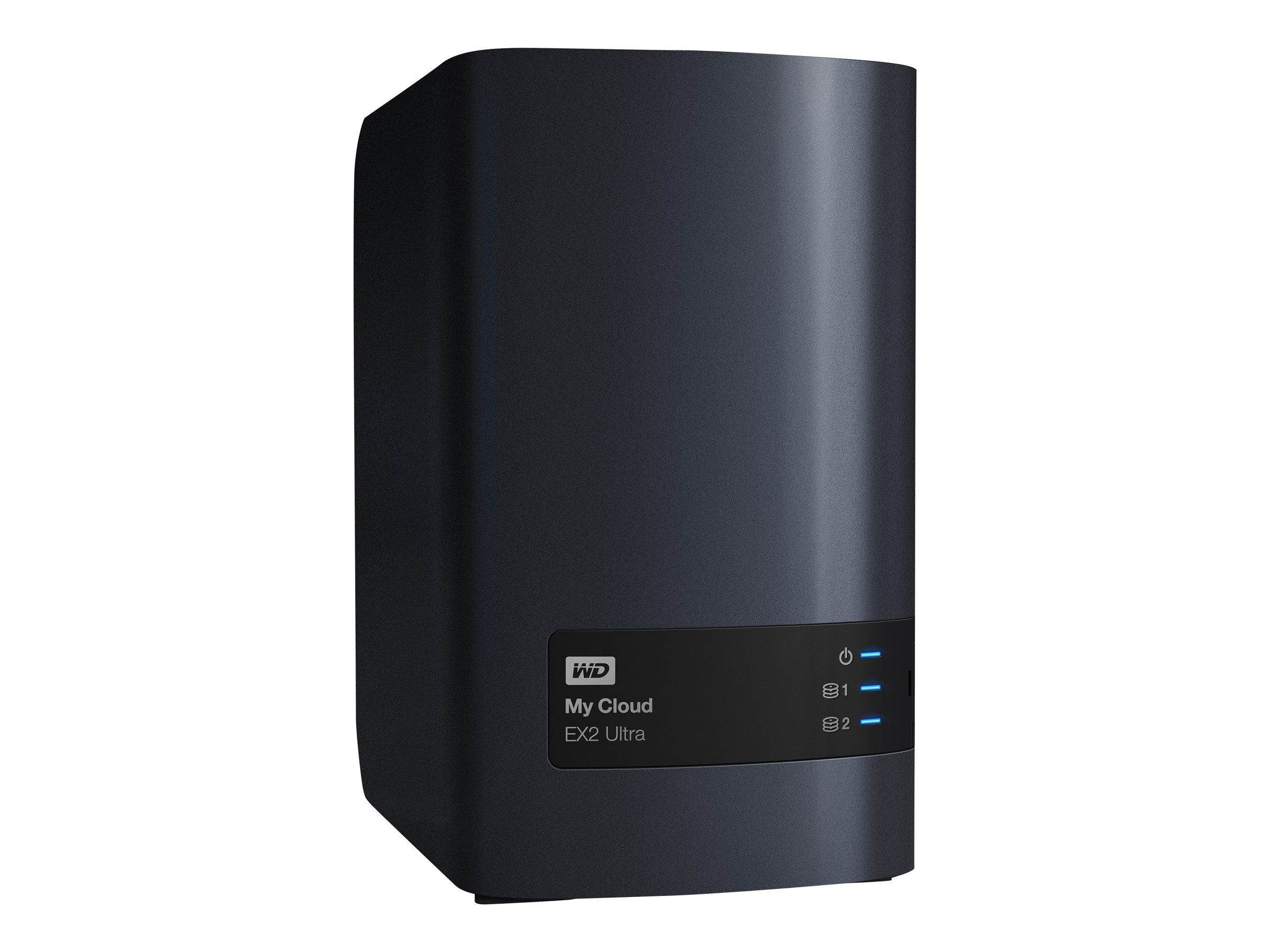 WD 12TB WD My Cloud EX2 Ultra Private Cloud NAS Storage, WDBVBZ0120JCH-NESN