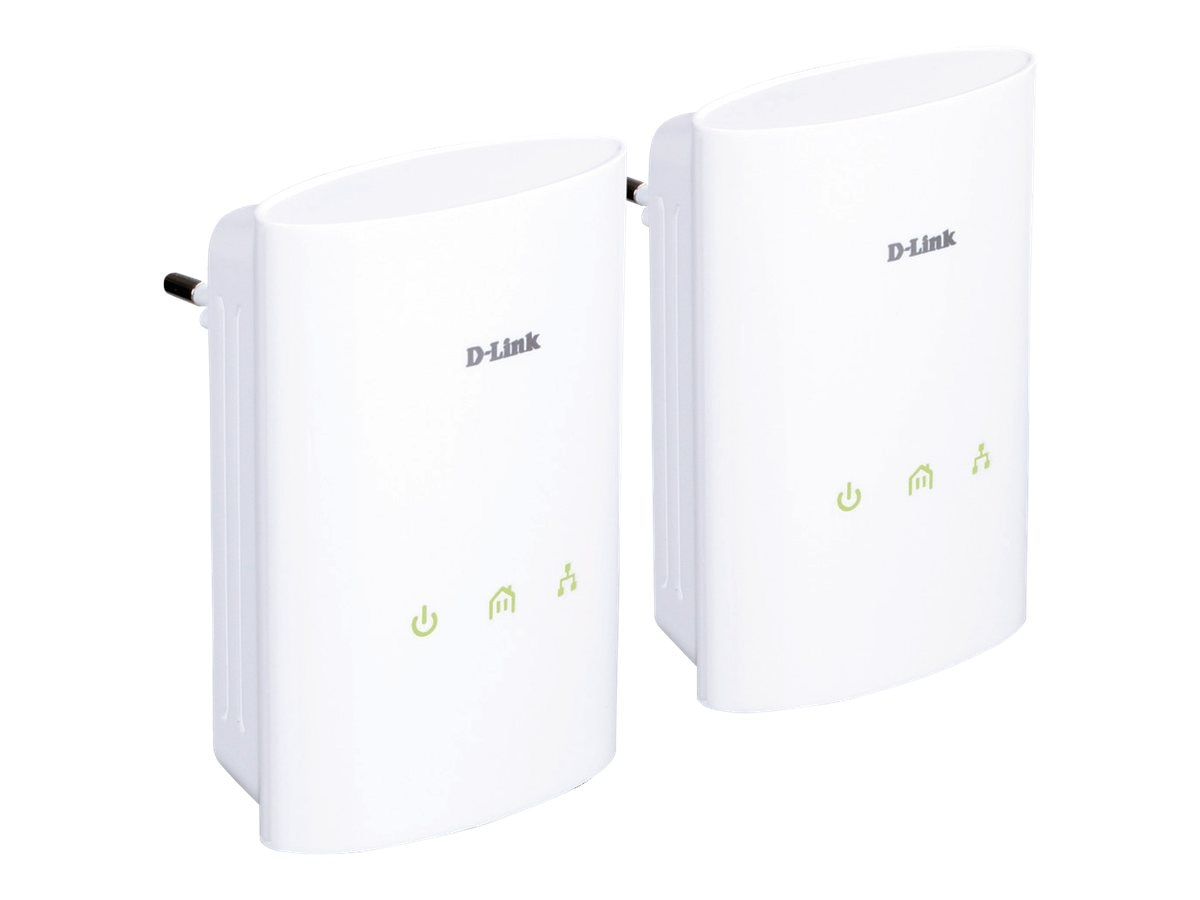 D-Link PowerLine AV Network Starter Kit, DHP-307AV, 11832110, Network Starter Kits