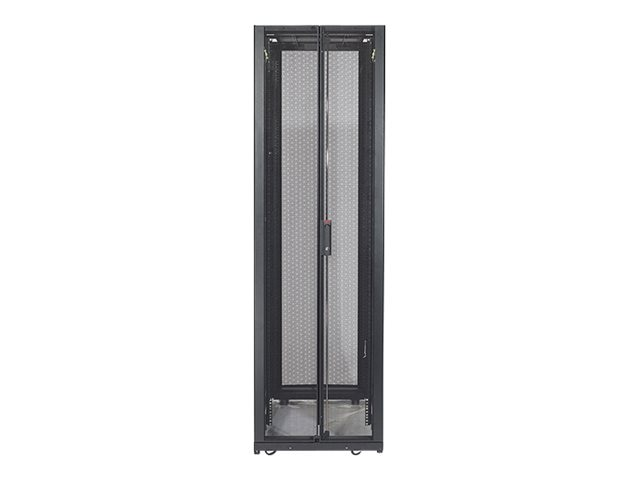 APC NetShelter SX 48U 600mm Wide x 1070mm Deep Enclosure with Sides, Black, AR3107