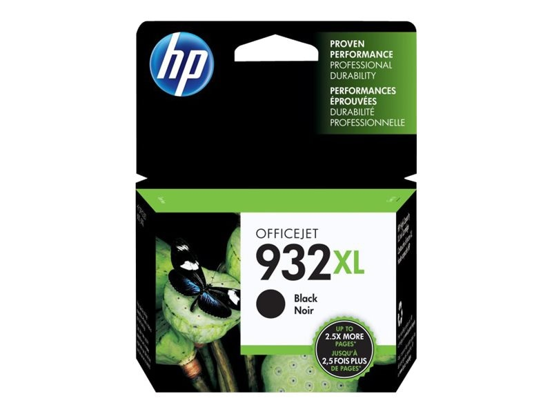 HP 932XL (CN053AN) High Yield Black Original Ink Cartridge, CN053AN#140