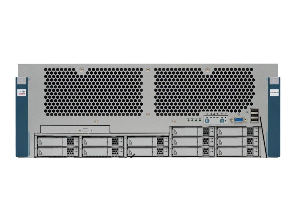 Cisco UCS C460 (4x)2.4GHz 128GB 4x600GB, WMS-EZ-C460-800P