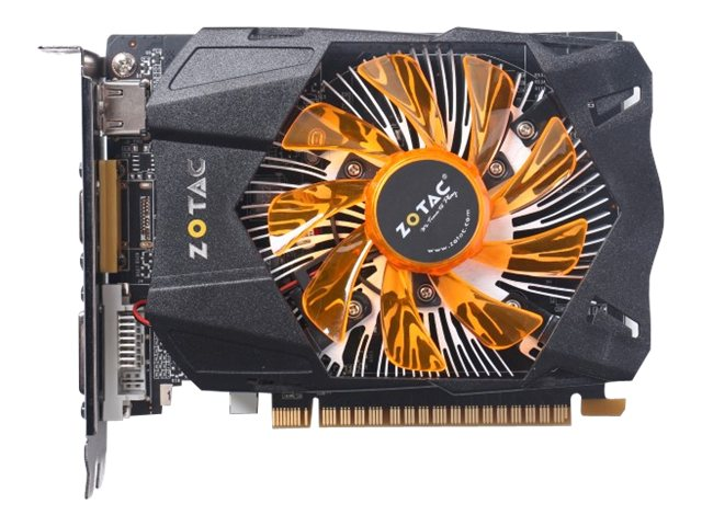 Zotac GeForce GT740 PCIe 3.0 x16 Graphics Card, 2GB DDR5