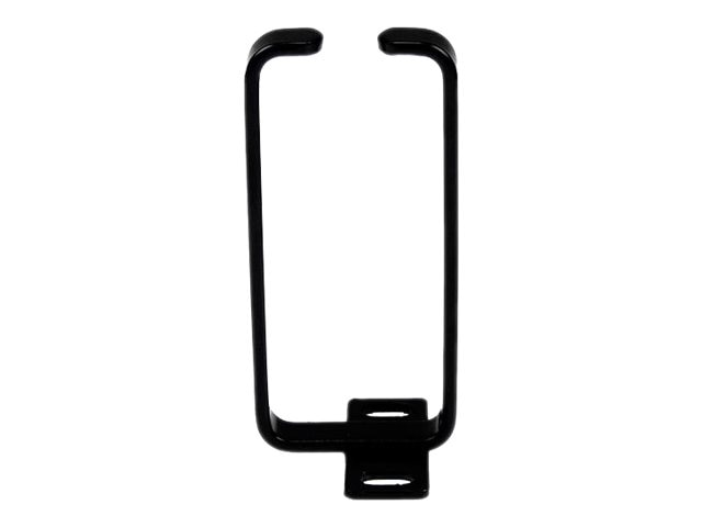 StarTech.com Vertical Server Rack Cable Management D-Ring Hook, 1U, 1.8 x 3.9