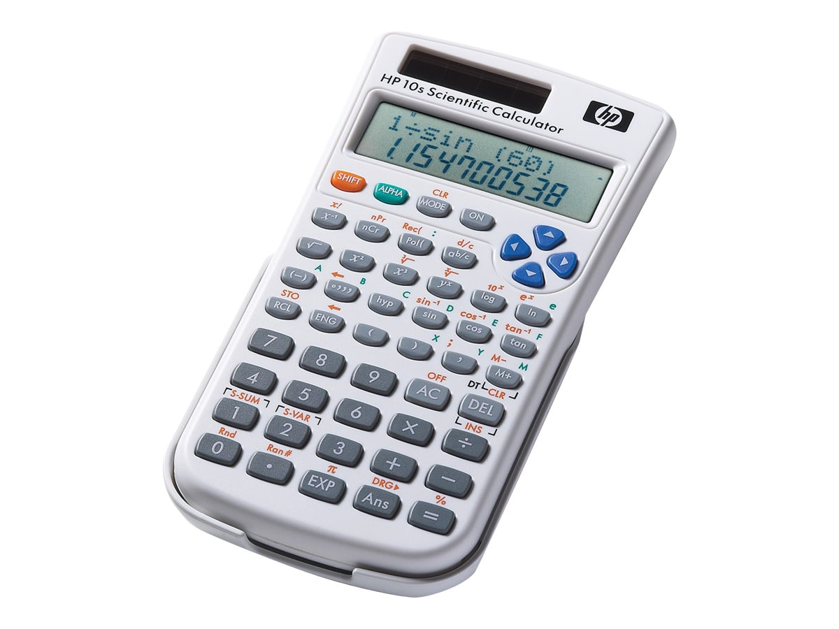 HP 10s+ Scientific Calculator, White, NW276AA#ABA